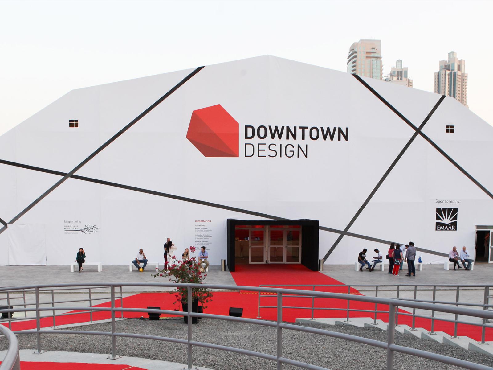 Rubinetterie F.lli Frattini a Downtown Design Dubai 2017